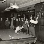 Michigan Union Billiards Room, 1937